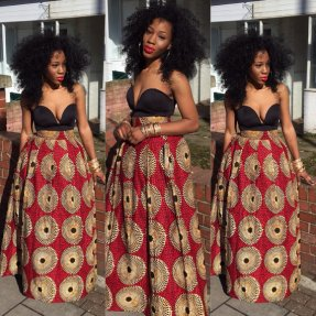 Meno Skirt. The African Shop, London