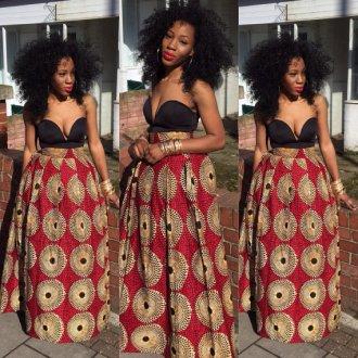 Meno Skirt. The African Shop, London
