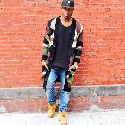 Press Play F14, Extended Camo Cardigan